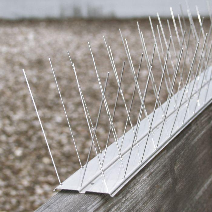 Système de défense anti-pigeons Alu Profi