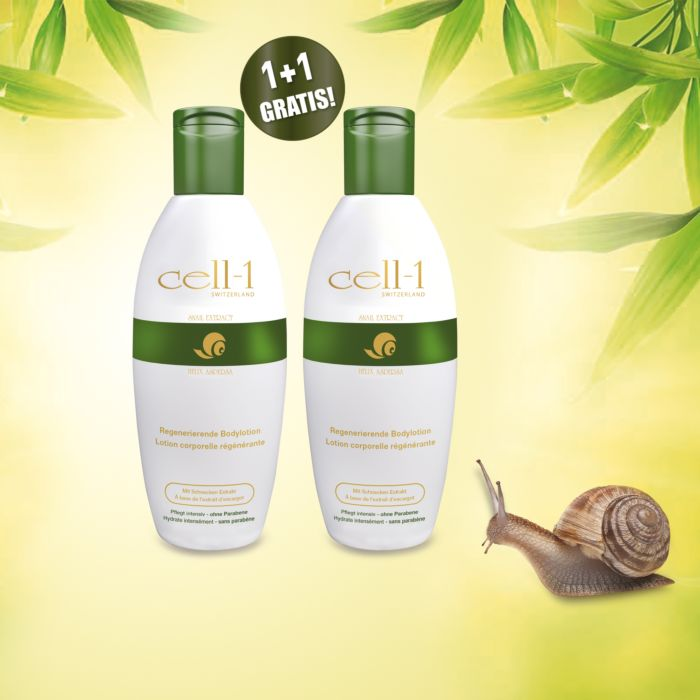Cell-1 Bodylotion + 1 Gratis, 2x200 ml