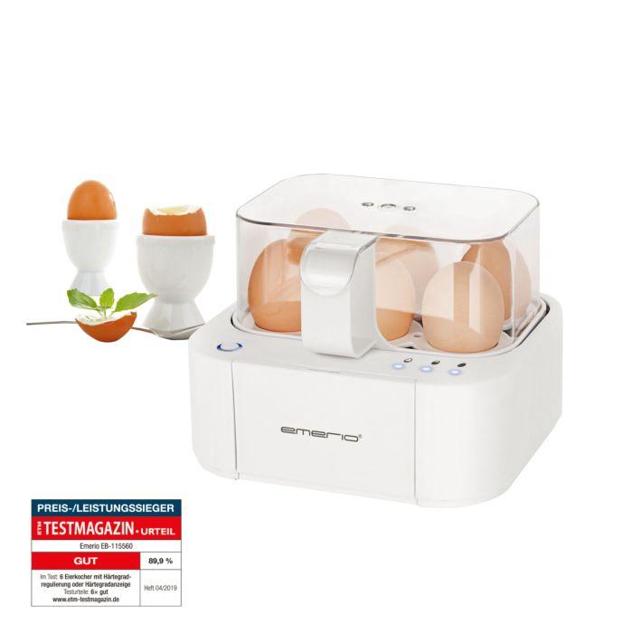 Emerio Eierkocher Smart Egg Boiler - der sprechende Eierkocher