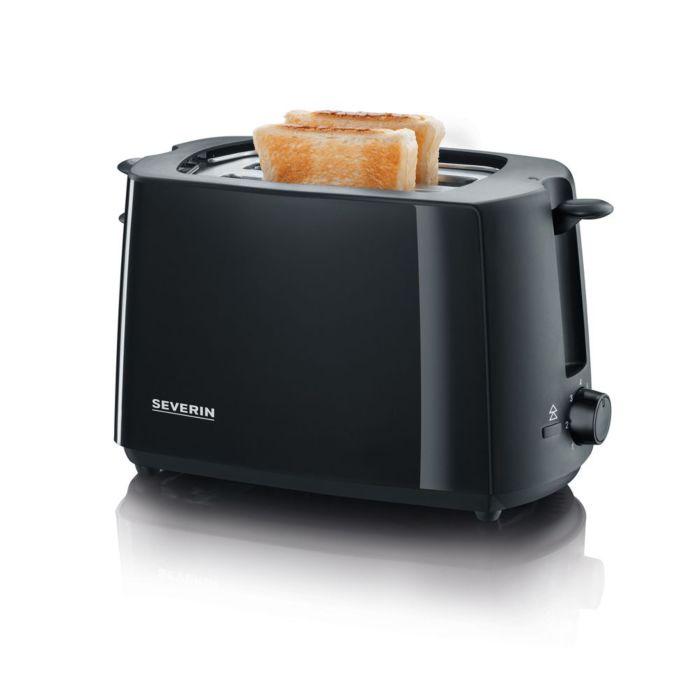 Severin Toaster mit integriertem Brötchen-Aufsatz