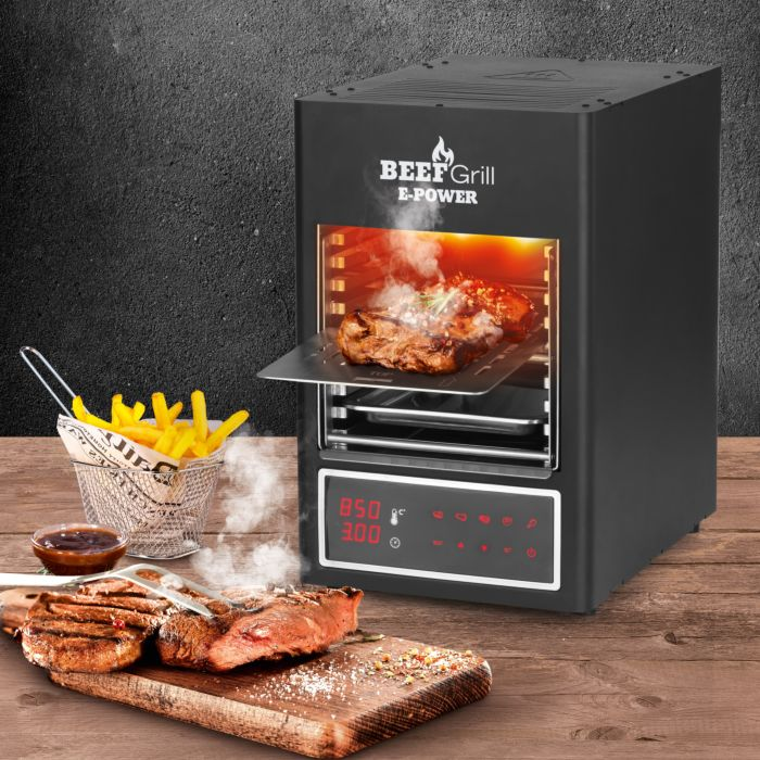 Gril électrique à chaleur supérieure Gourmetmaxx Beef Maker