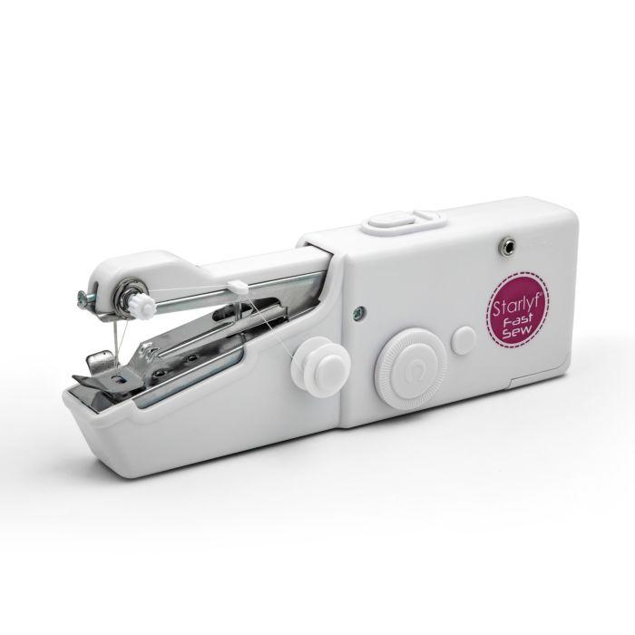 Starlyf Fast Sew Mini-Handnähmaschine 6-tlg.