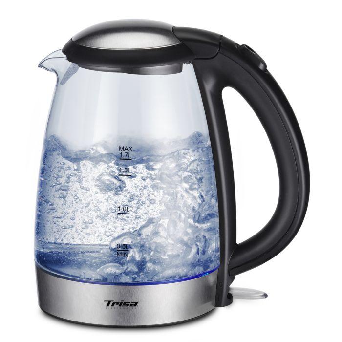 Trisa Glaswasserkocher 1.7L Glas Boil