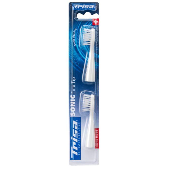 2 brosses à dents de rechange Trisa Sonic Fine Tip