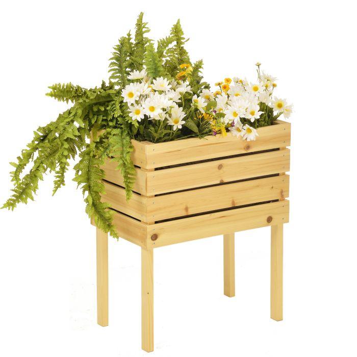 Jardinière surélevée modulable, 50x30x60 cm