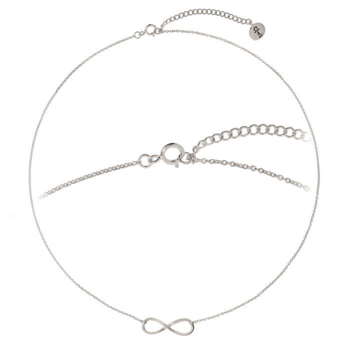 Silber-Kette 925 mit Anhänger Infinity