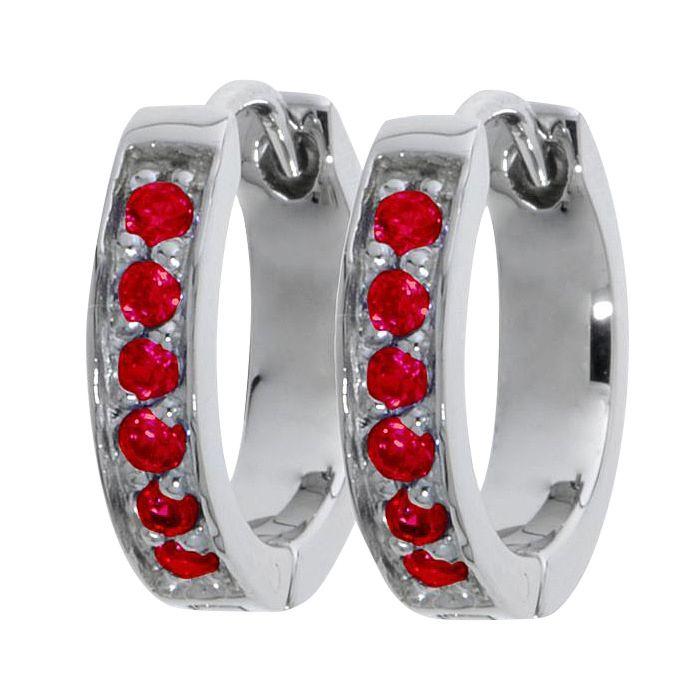 Edelstahl-Ohrringe mit Kristall, Breite 3 mm - in 5 bunten Farben