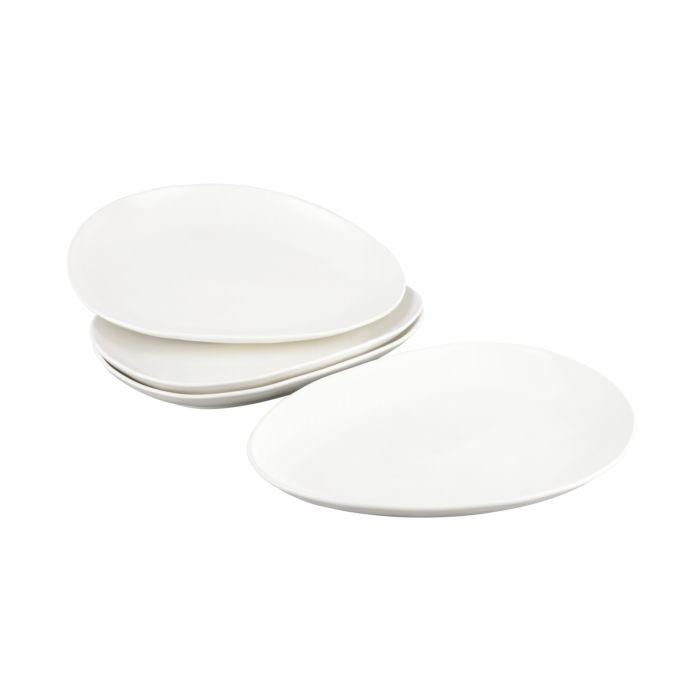 Porzellan-Teller 4er-Set, 33 cm