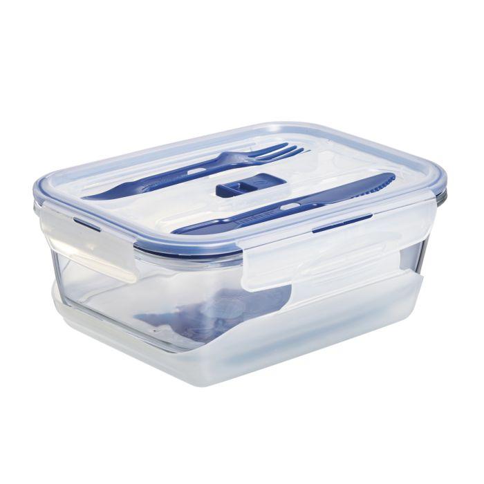 Lunchbox mit seperatem Kühlfach und Besteck