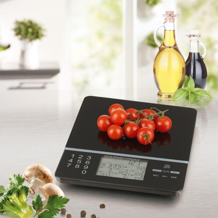 Gourmetmaxx Food Control Küchenwaage 3V