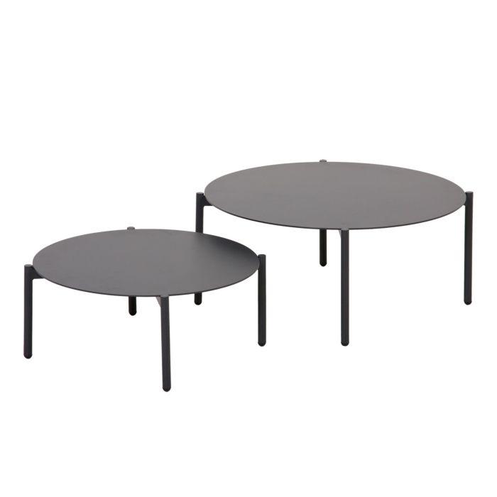 Lot de 2 tables d'appoint Torino