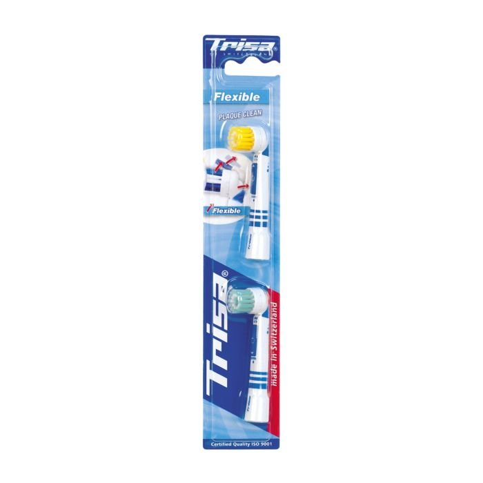 Têtes de brossage de rechange Trisa, lot de 2