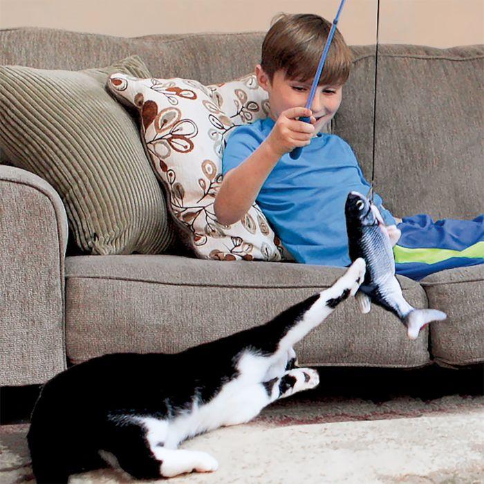 Flippity Fish – Interaktives Katzenspielzeug