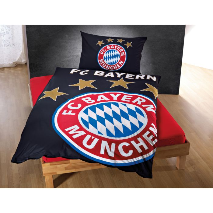Parure de lit FC Bayern München, luit dans l'obscurité