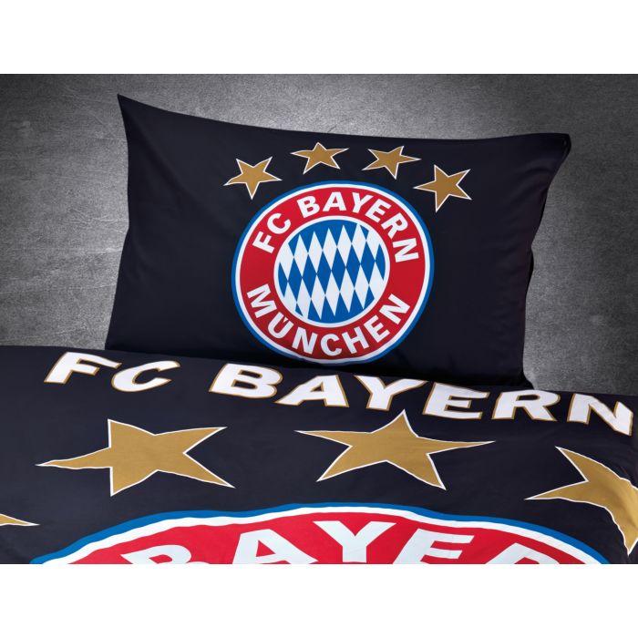 Fc Bayern München Bettwäsche Leuchtet Im Dunkeln Günstig Lehner