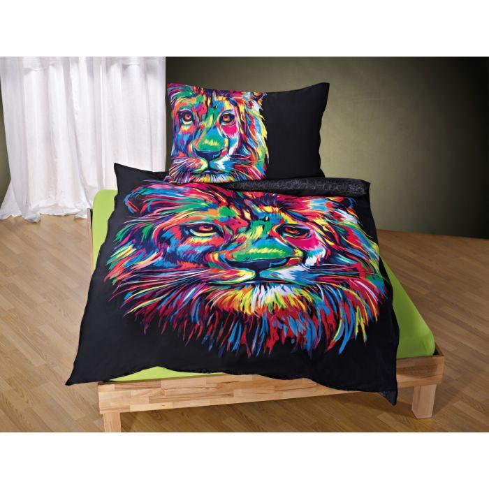 Linge de lit Bureau Artistique avec lion