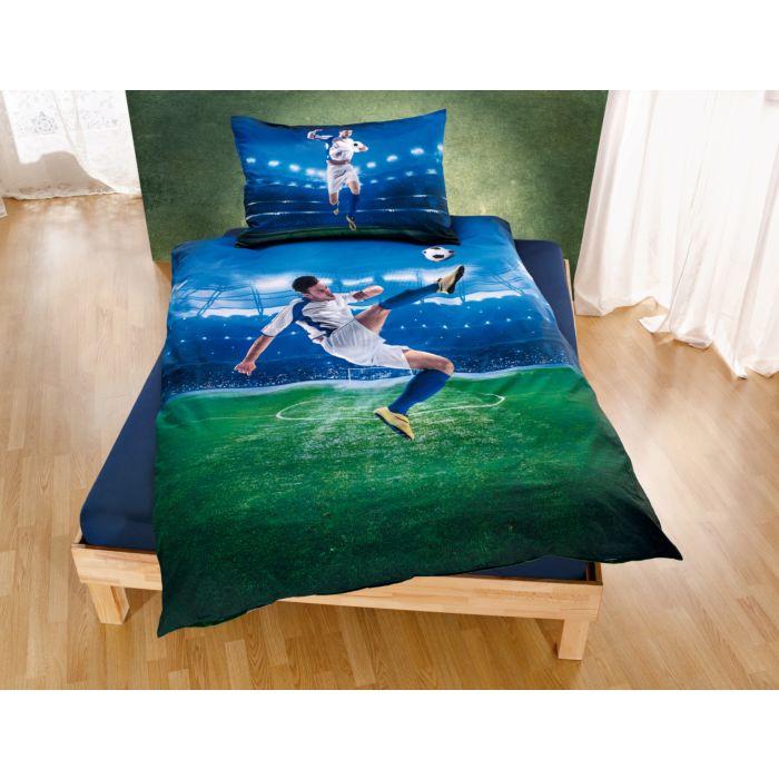 Parure de lit avec joueur de football