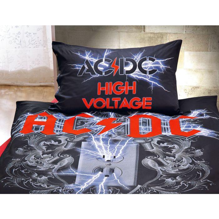 Acdc Bettwäsche High Voltage Günstig Lehner Versand