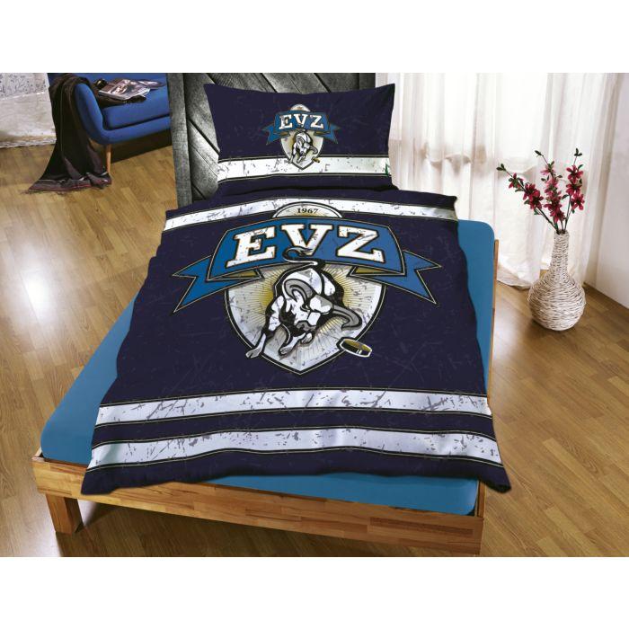 EVZ-Bettwäsche mit grossem Logo