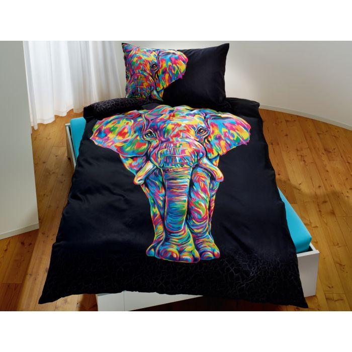 Bureau Artistique Bettwäsche mit Elefant