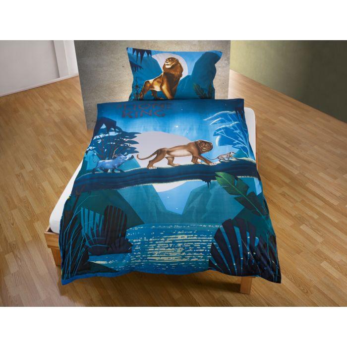 """Bettwäsche """"Der König der Löwen"""" in Blau"""