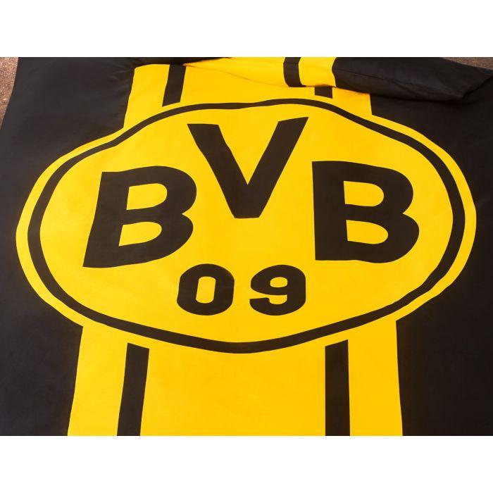 Bvb Borussia Dortmund Bettwasche Mit Grossem Logo Gunstig Lehner Versand