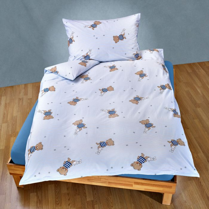 Bettwäsche mit niedlichen Bärchenmotiven