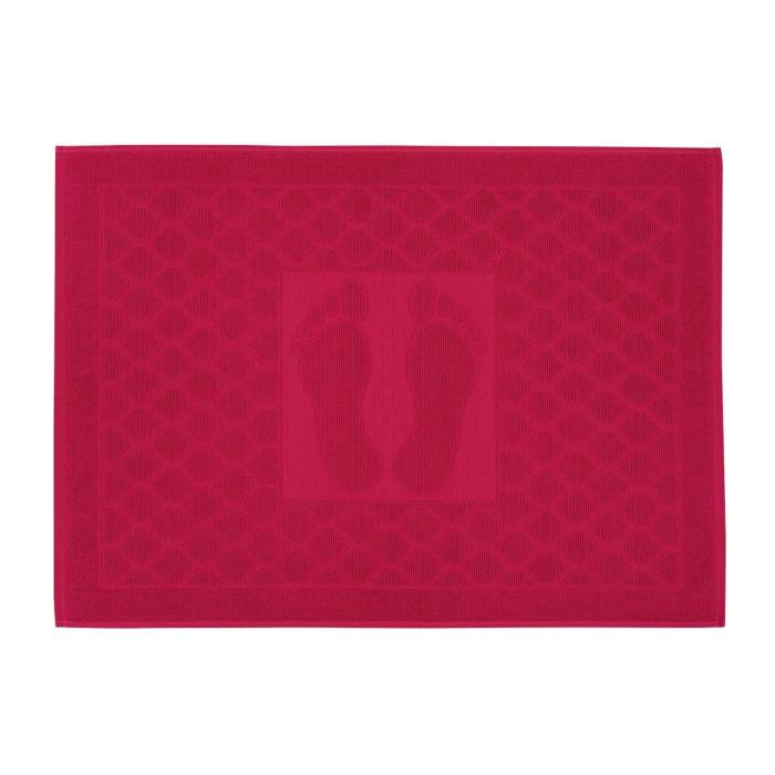 Badevorleger mit Fuss-Print und Muster