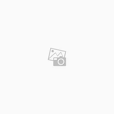 Acryl-Tischdecke Blumen und Kreise grün-blau