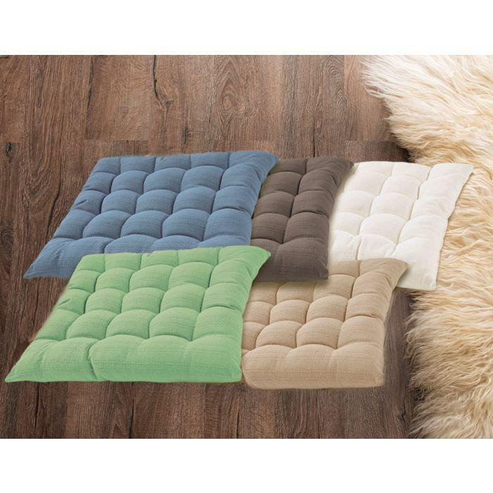 Coussins d'assise en divers coloris