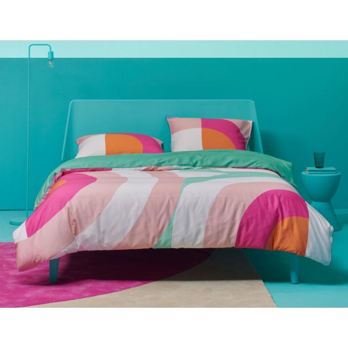 Linge de lit ESPRIT au motif moderne en doux coloris pastels