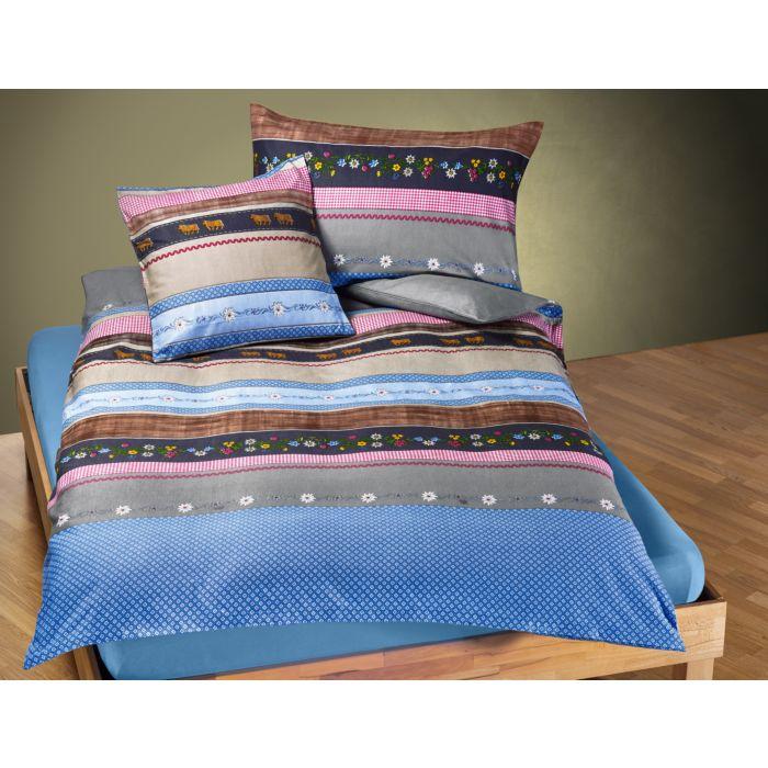 Linge de lit à motifs traditionnels aux beaux coloris
