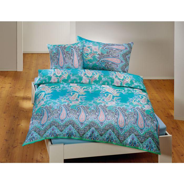 Linge de lit à motif cachemire romantique