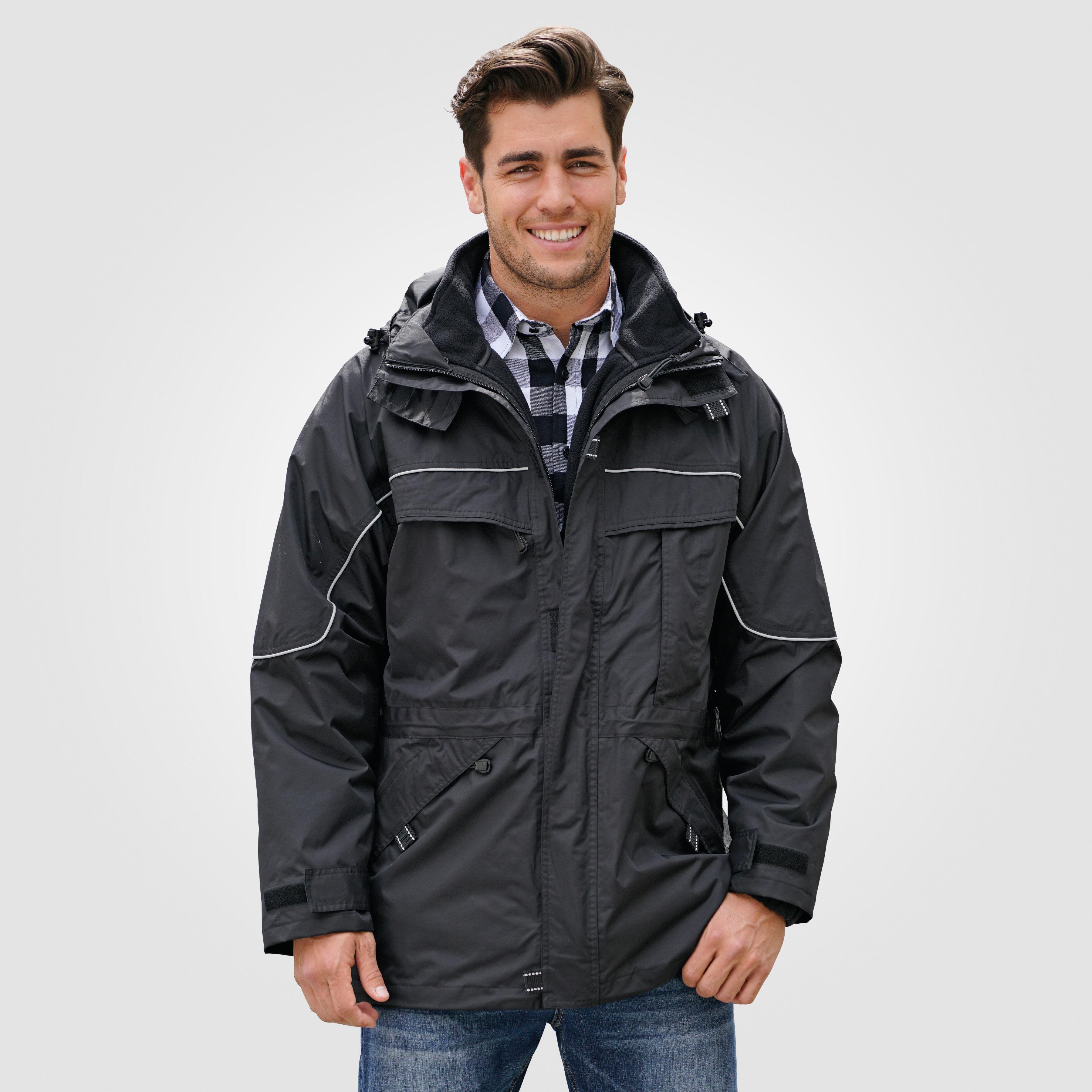 Herren Outdoor Jacke 3 in 1