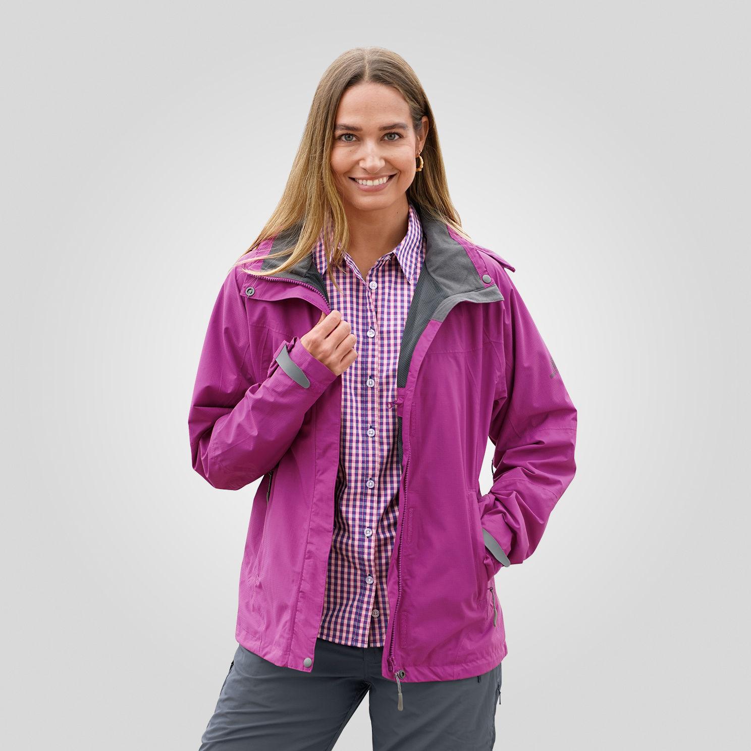 Funktionelle Outdoor Jacke für Damen