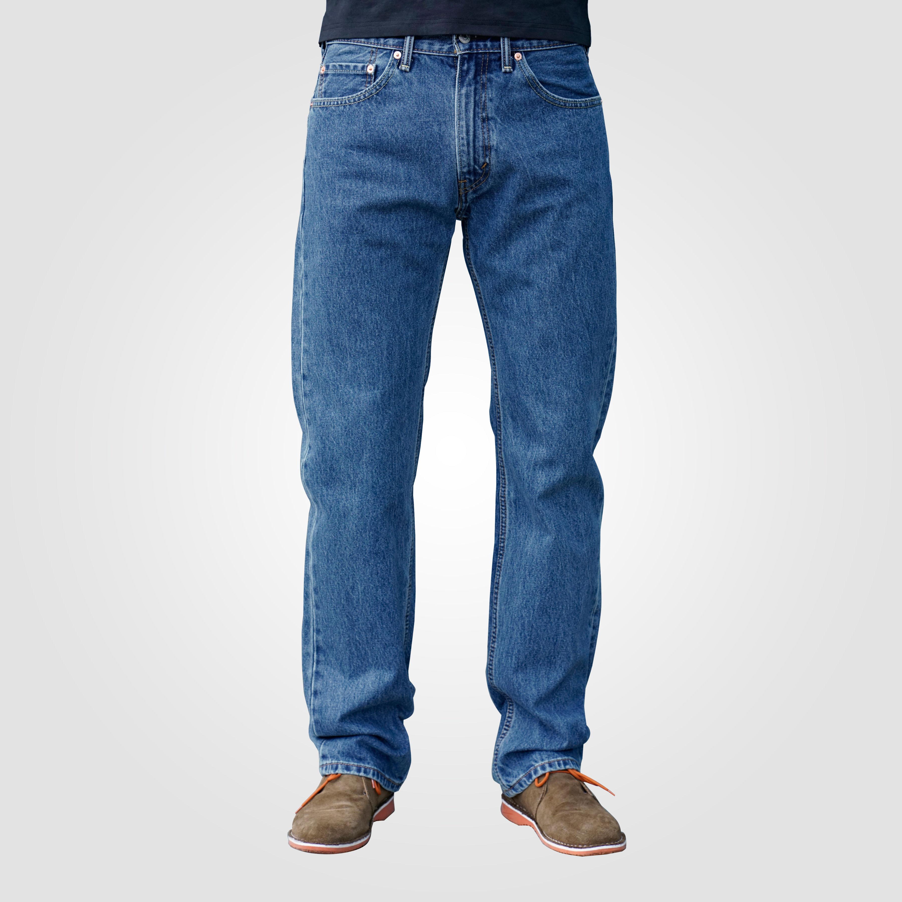 new arrivals 9bfef f1112 Levis 505 Herren Jeans