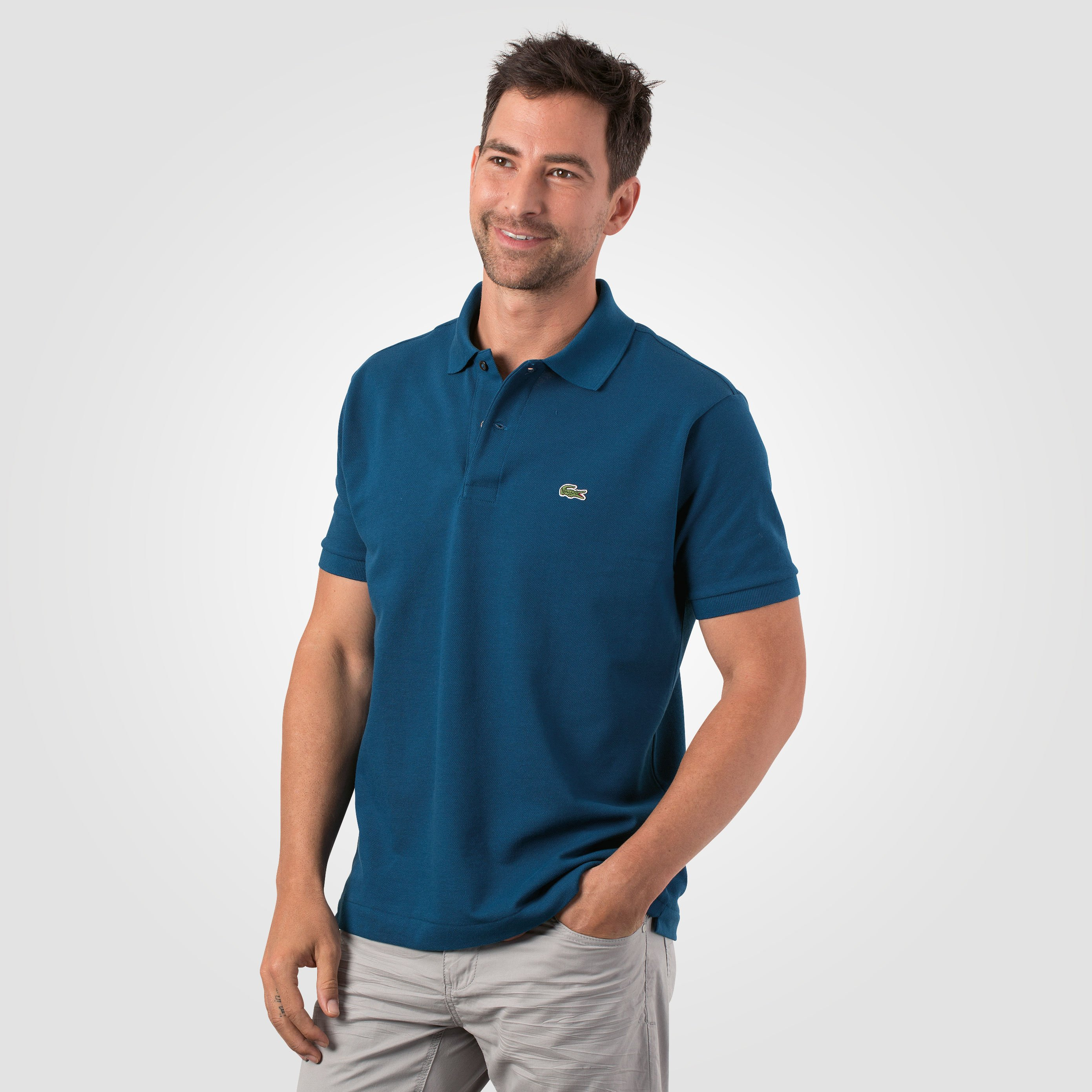 newest fbb32 62ce2 Lacoste Polo-Piqué-Shirt für Herren