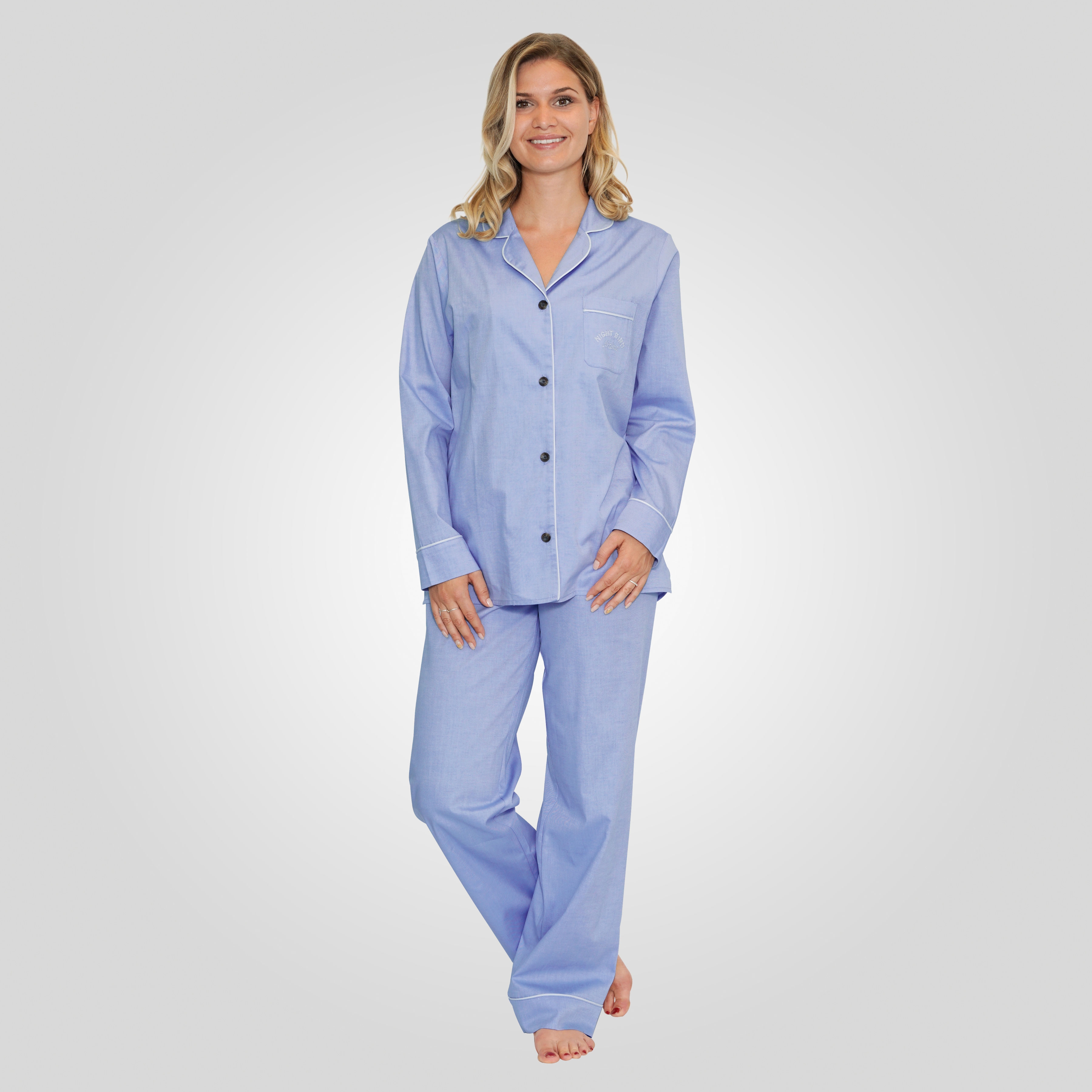online store 40a44 6b939 Hemd-Pyjama Damen