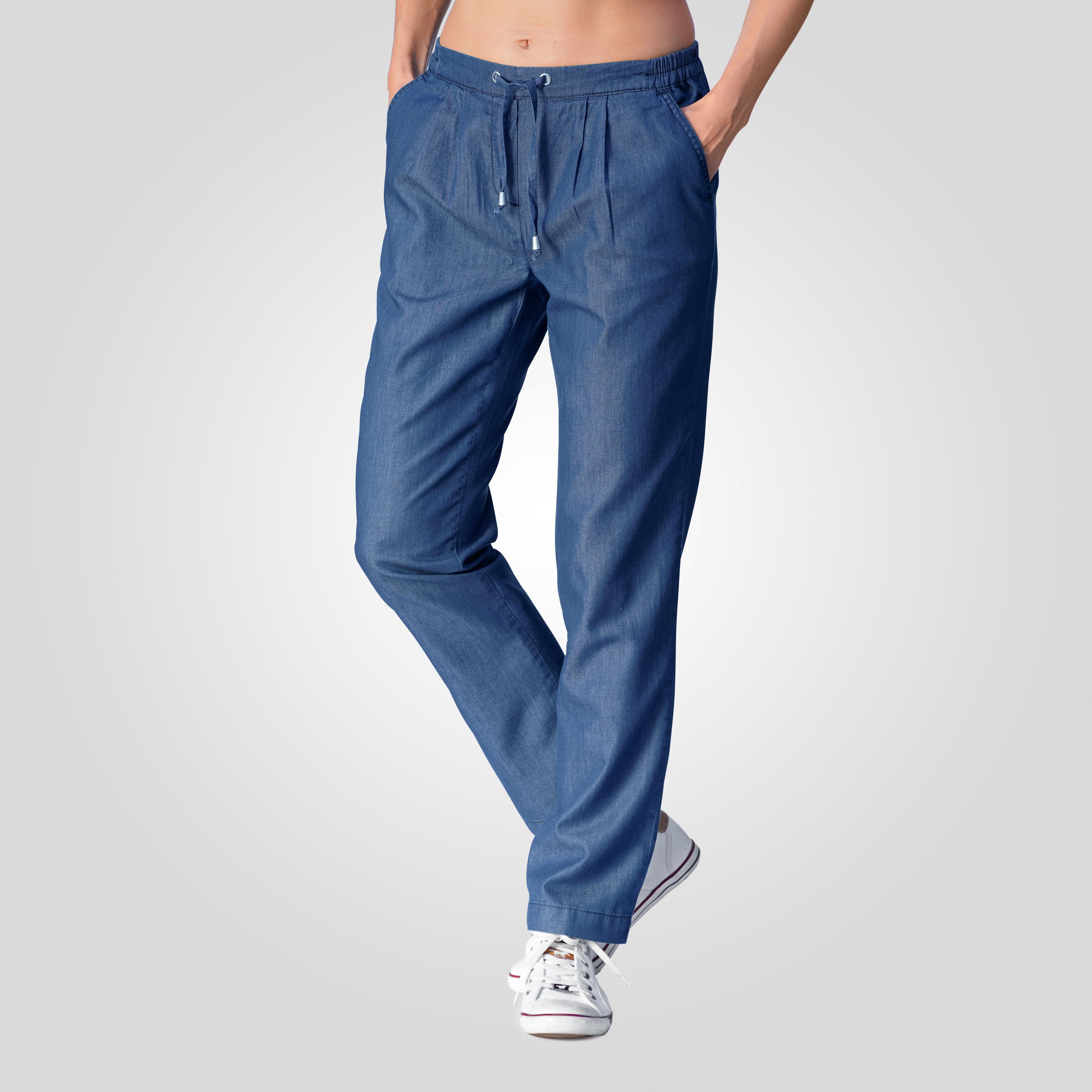 0fd392867d Leichte Damen Sommerhose aus Tencel günstig bestellen ⋆ Lehner Versand