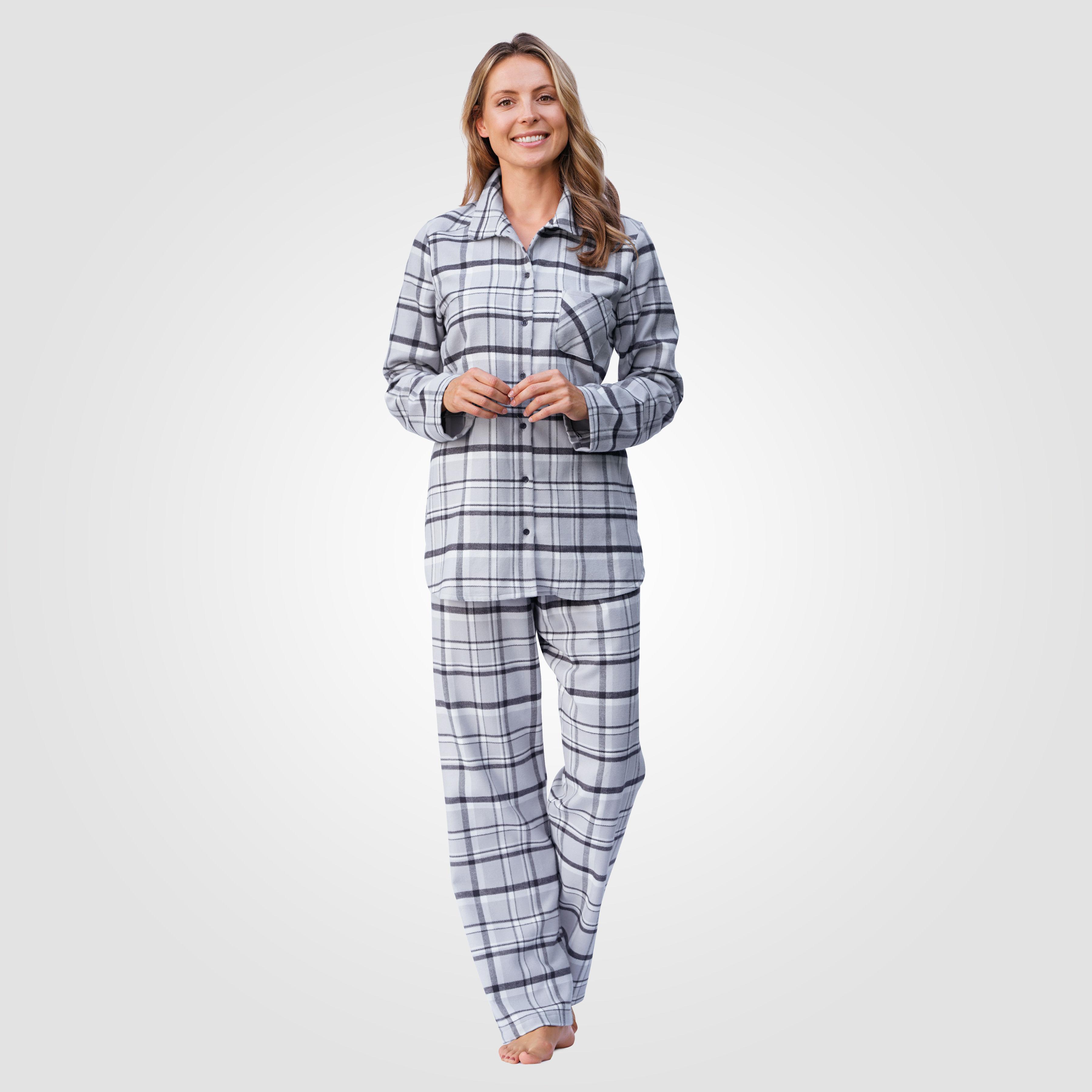 wholesale dealer cef5d d3b7b Calida Flanell Pyjama kariert