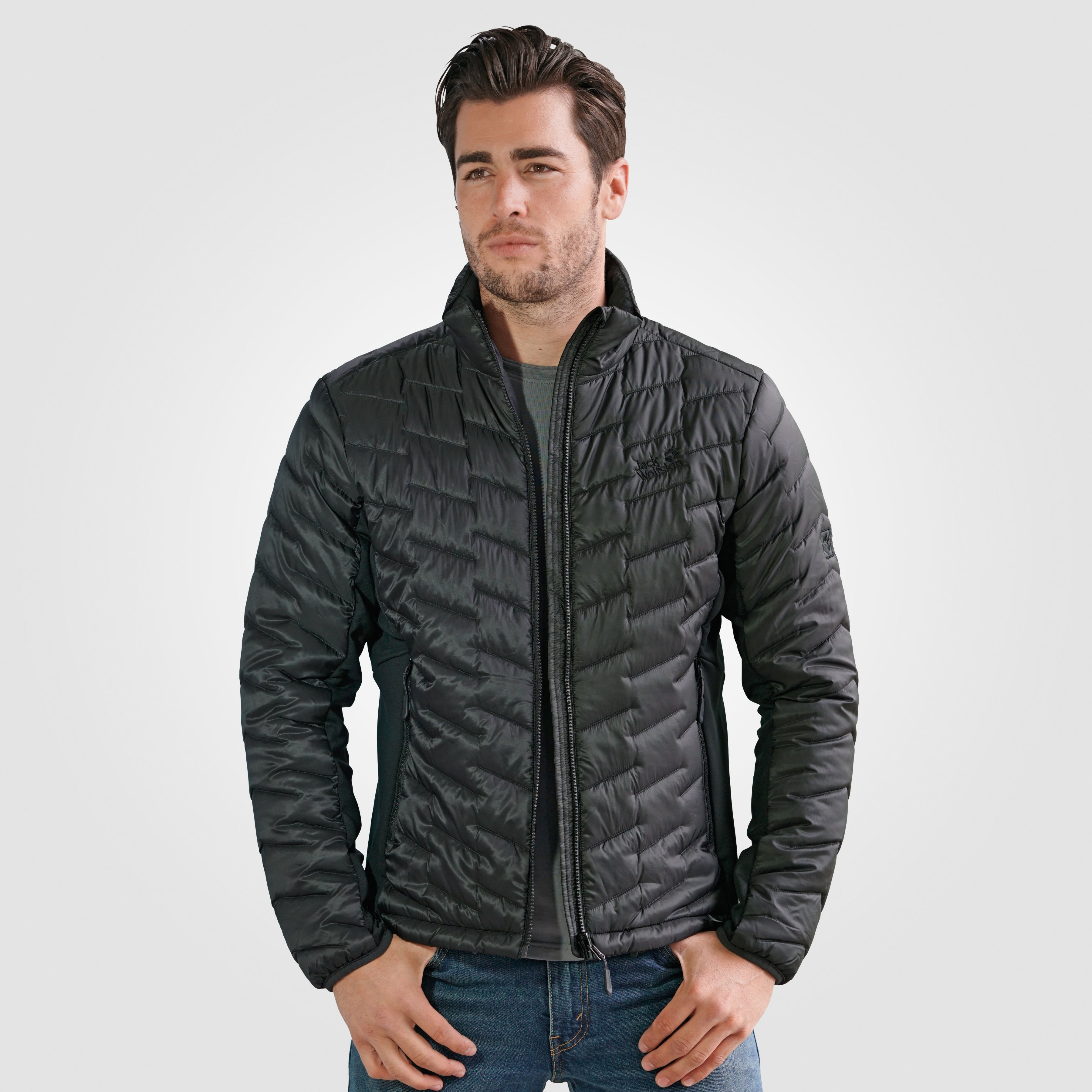cheapest store pretty cool Jack Wolfskin Herren Steppjacke Ice water