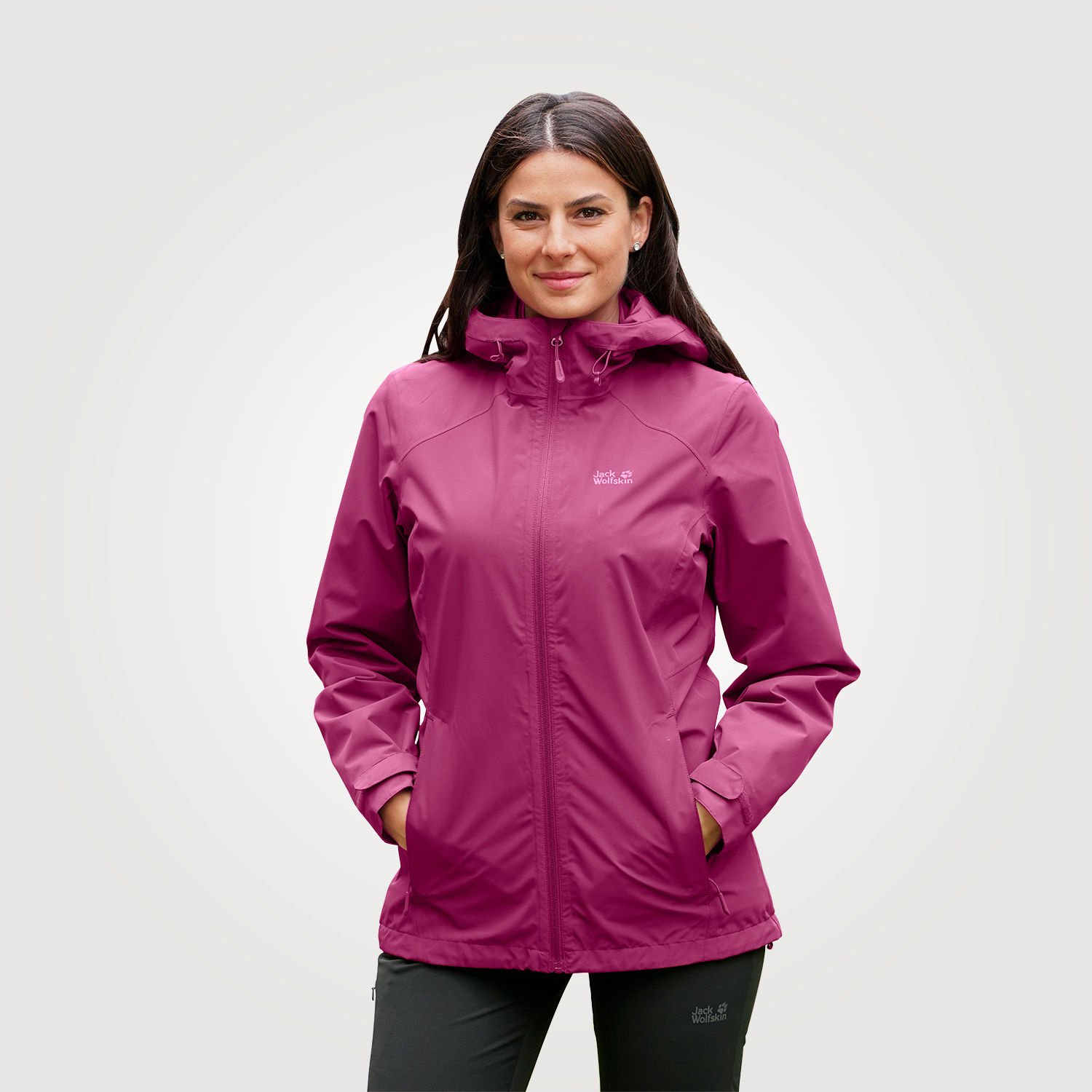 outdoorjacke damen 3 in 1 jack wolfskin