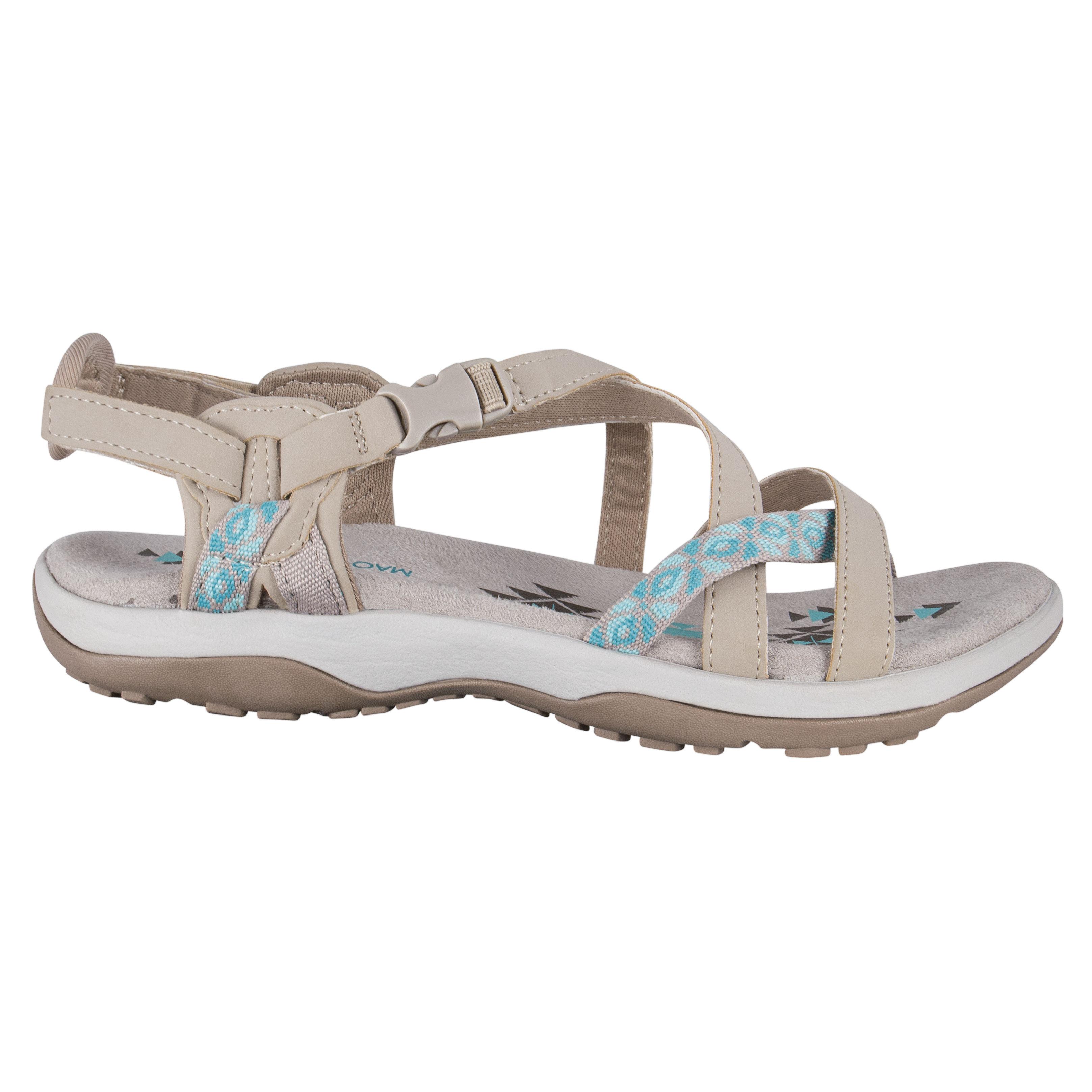 SKECHERS Leder Sandale Damen