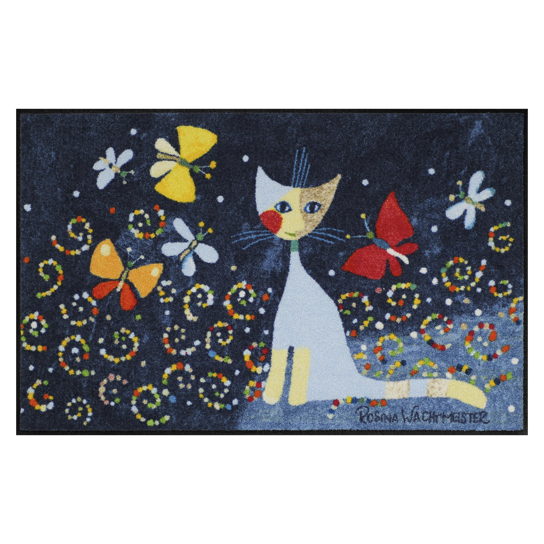 Rosina Wachtmeister Fussmatte Katze Schmetterlinge Günstig