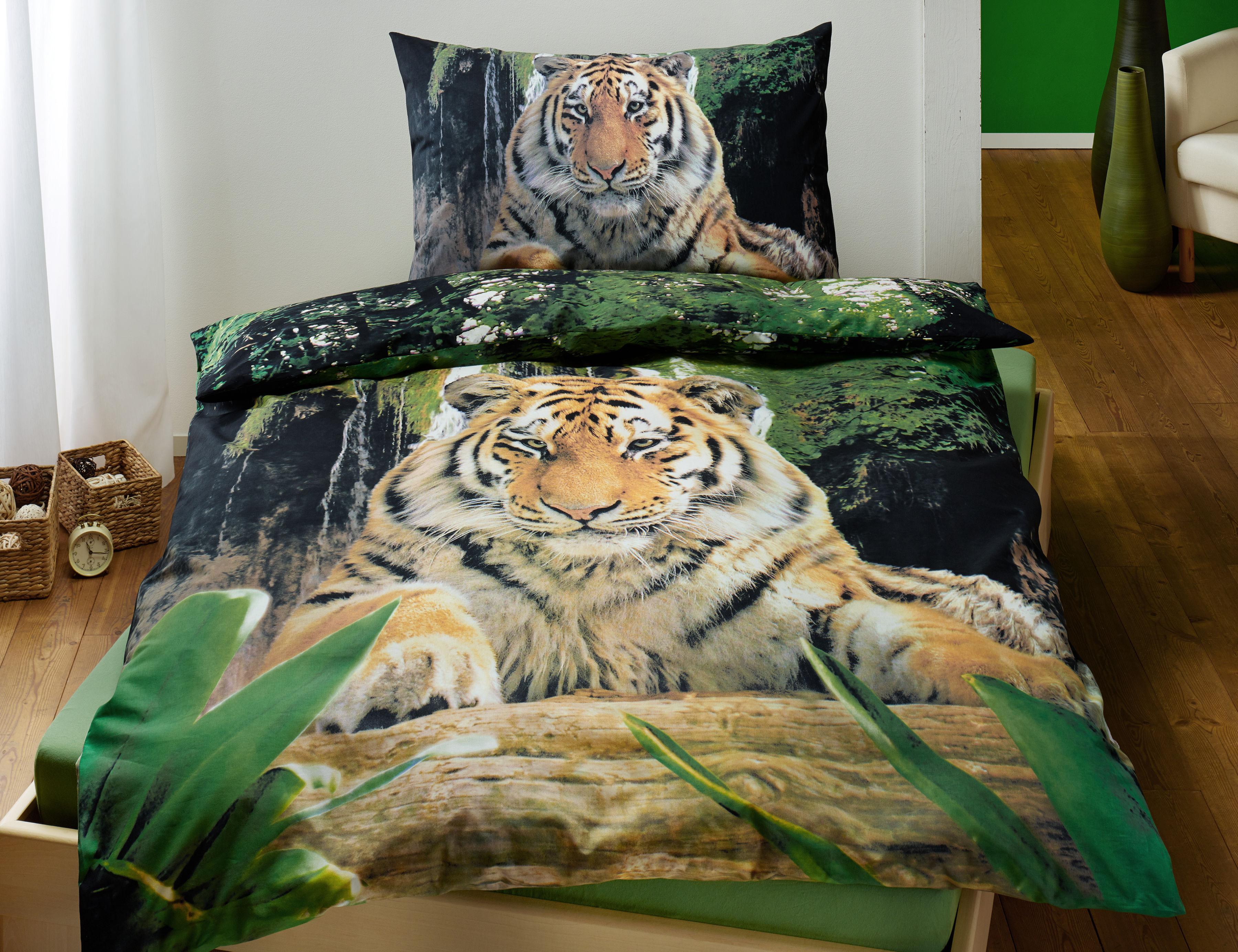 Bettwäsche Mit Tiger Günstig Lehner Versand