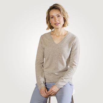 damendamen cashmere pullover mit vausschnitt günstig ⋆ lehner versand